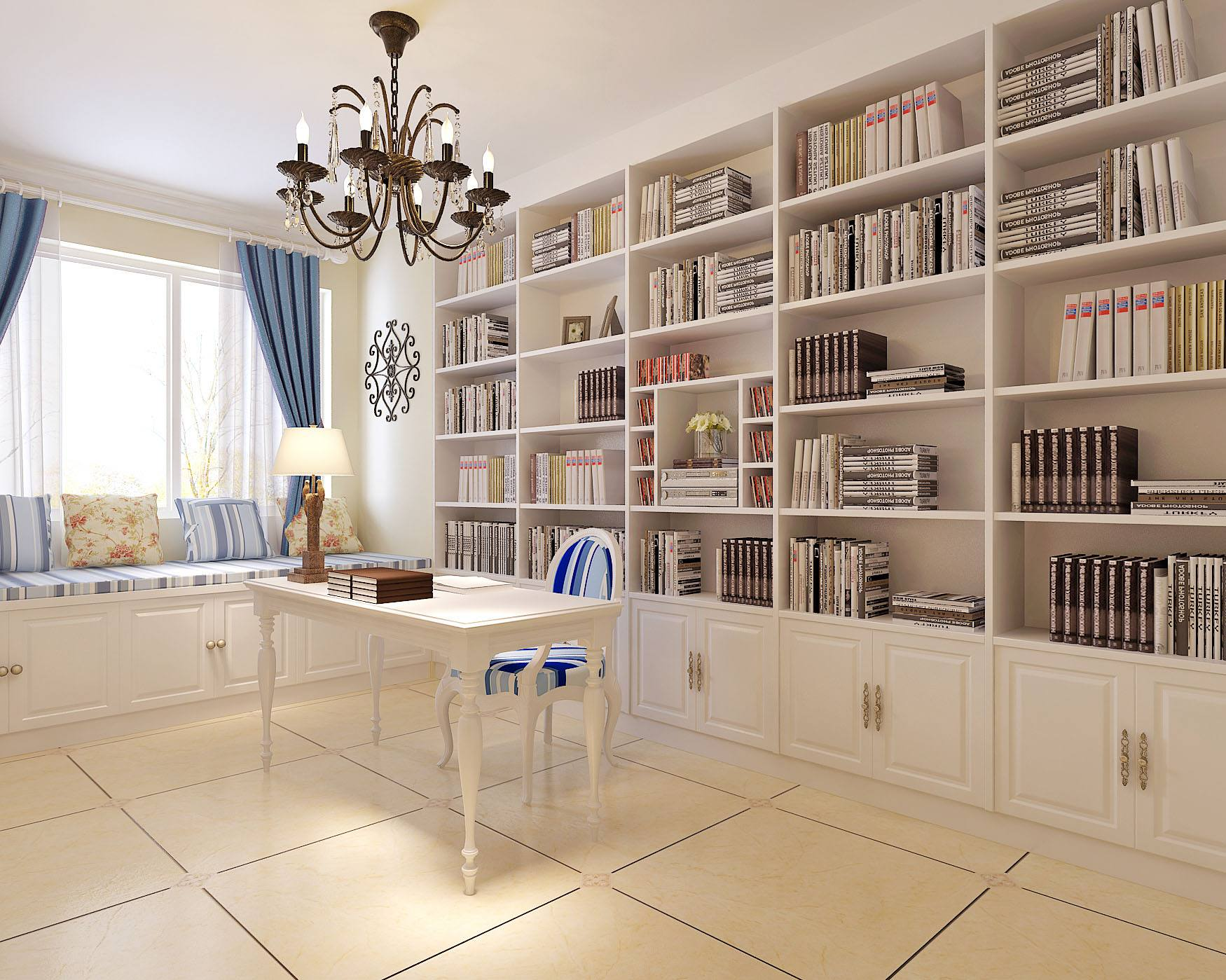 这样设计书房引领时尚潮流