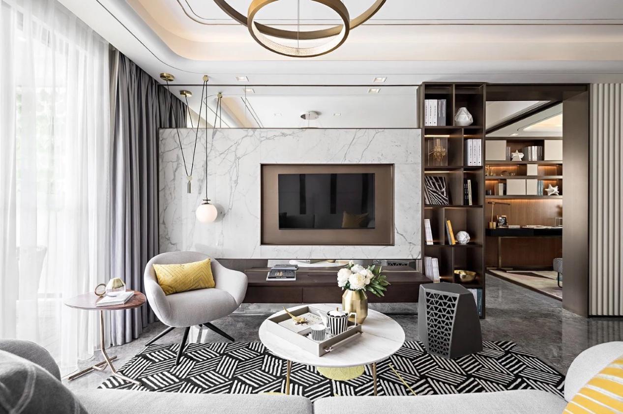 中交和美新城四期現代輕奢風格  營造整體新穎的藝術格調