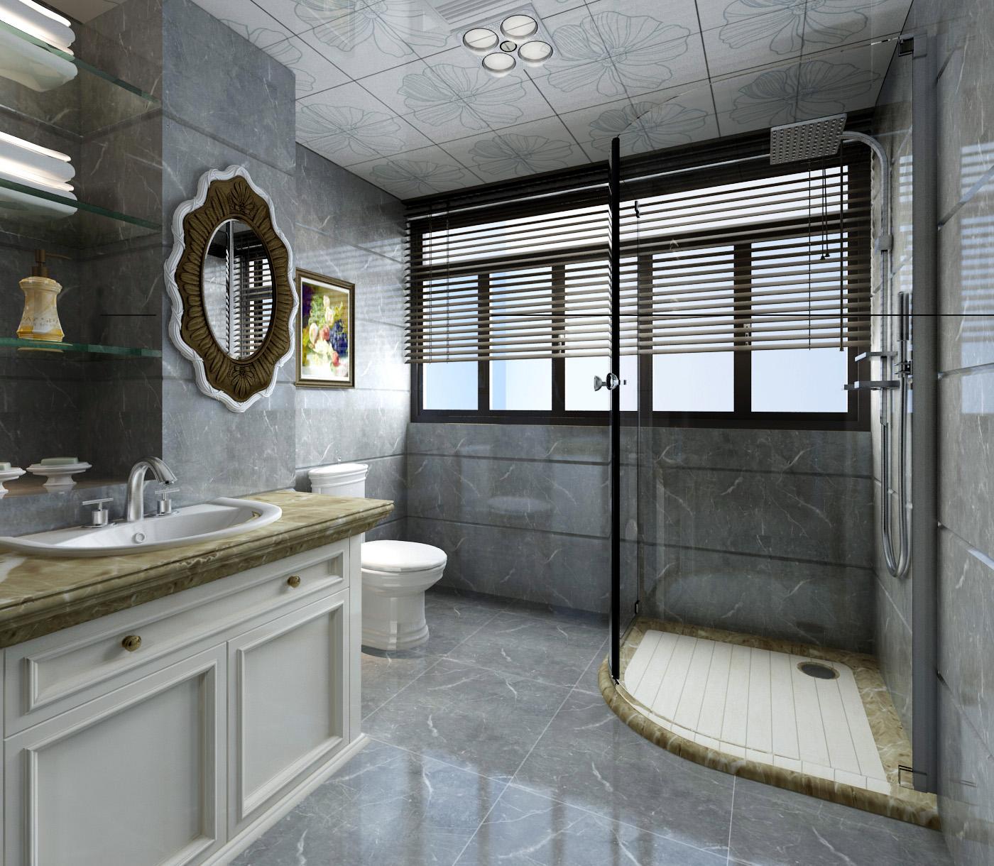 山語聽溪別墅裝修  處處充滿高級感的歐式家具