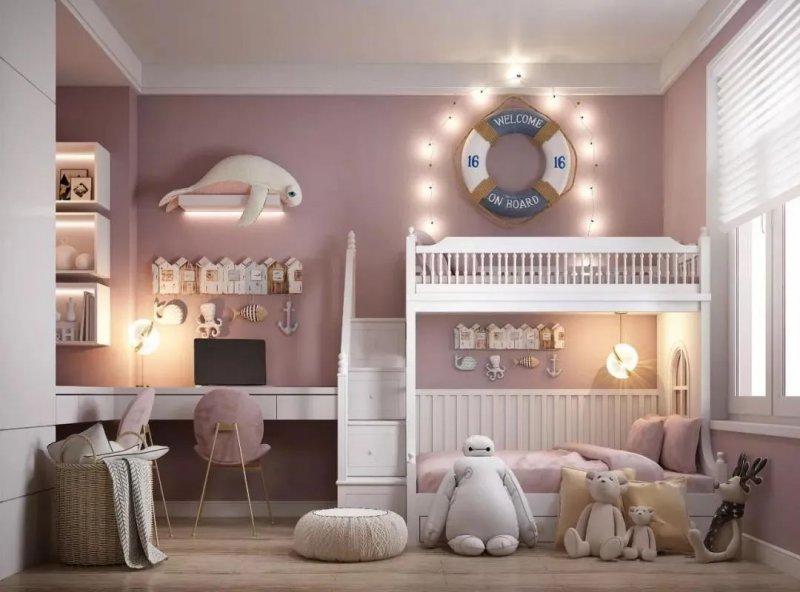 盤點兒童房裝修的細節,每一項都很關鍵!