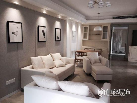 郑州装修设计装饰找有家装饰,北欧装修案例分享