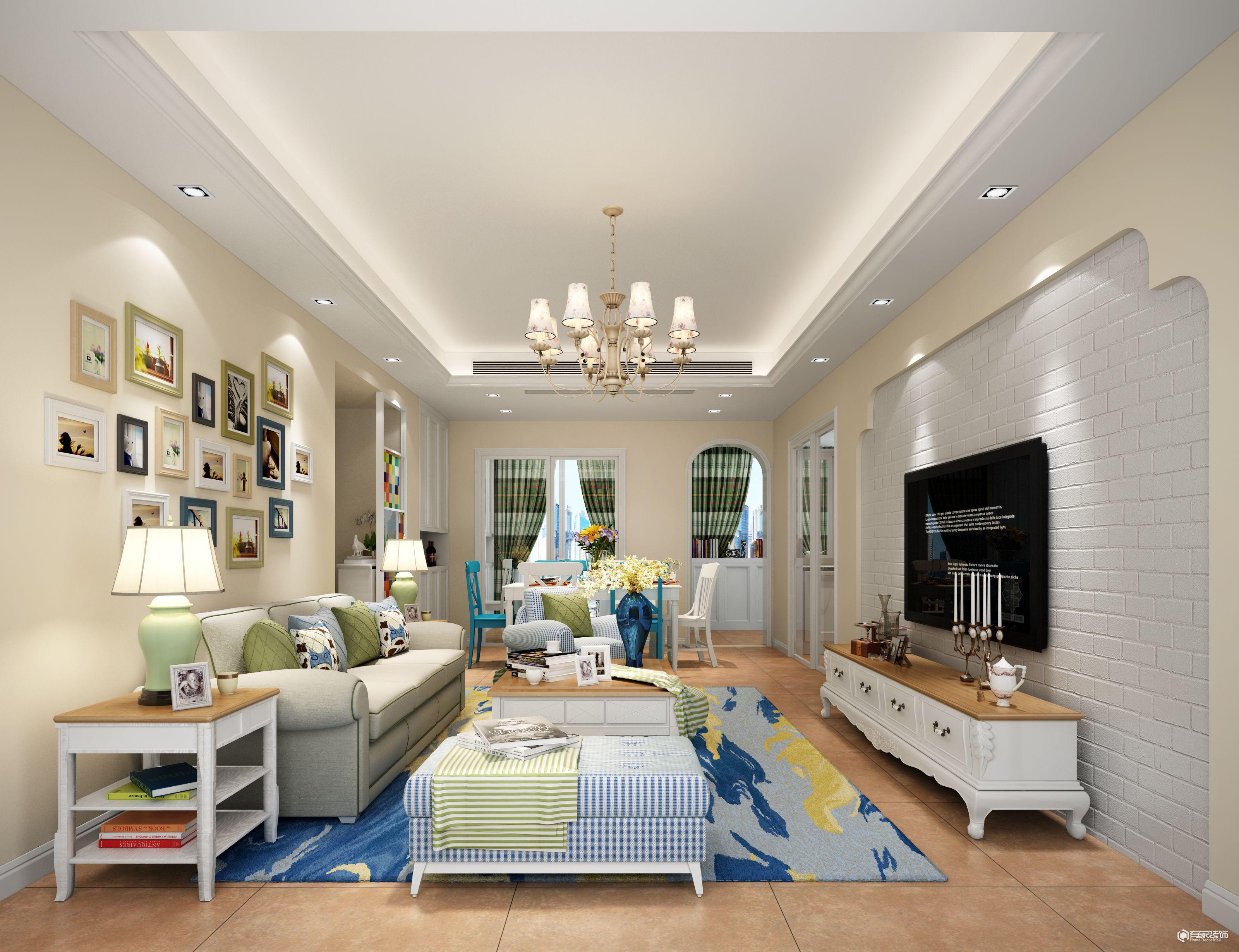 有家装饰装修公司地中海 简欧,美式装修案例欣赏